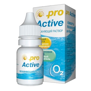 Капли для глаз - Optimed Pro Active