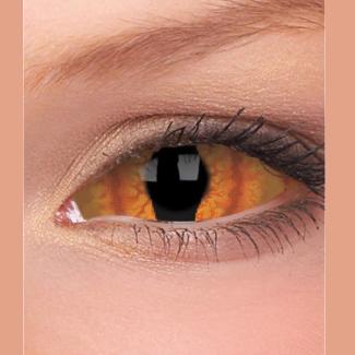 Склеральные линзы - Глаз дьявола