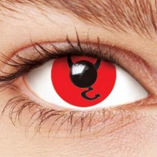 Карнавальные линзы - Знак дьявола