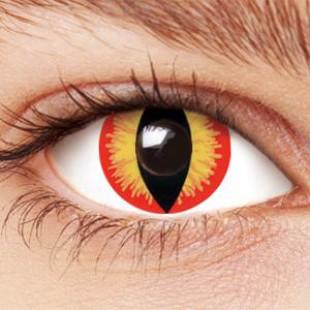 Карнавальные линзы - Глаз дьявола