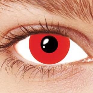 Карнавальные линзы - Красный глаз