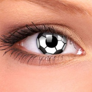 Карнавальные линзы - Футбольный мяч