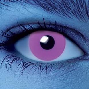 Светящиеся линзы - Фиолетовые